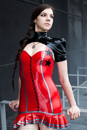 Rock'N Roll Latex Kleid
