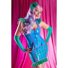 BonBon Latex Arm Gauntlets