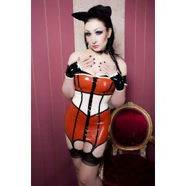 Neo 60's Latex Dress