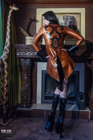 Daphne Latex Tailcoat DeLuxe