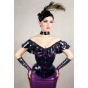 Kitten In The Night Latex Corset