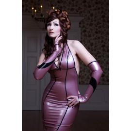 Lady Floret Latex Arm Gauntlets
