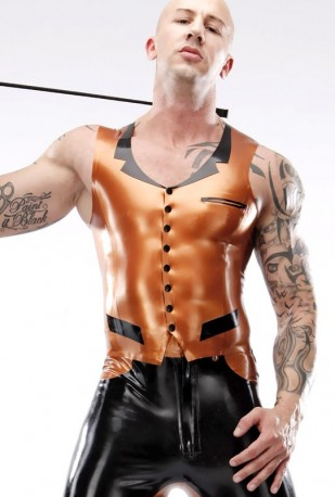 Dandy Boy Latex Vest