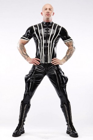 Commander Latex Reithose