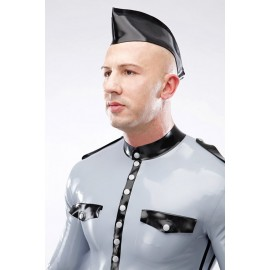 Latex Garrison Cap One-Coloured