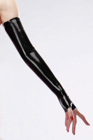 Diva Latex Arm Gauntlets