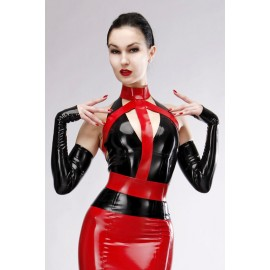 Diva Latex Harness