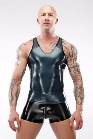Singlet Latex Top
