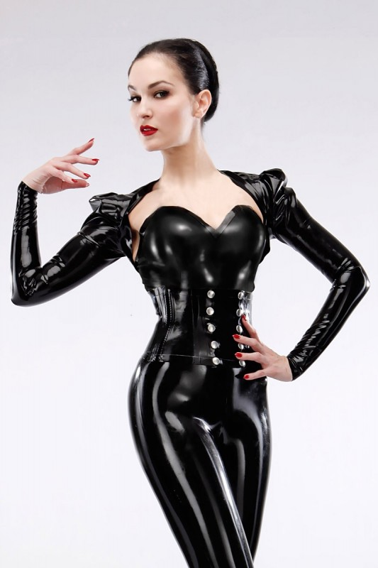 diva latex bolero savage wear