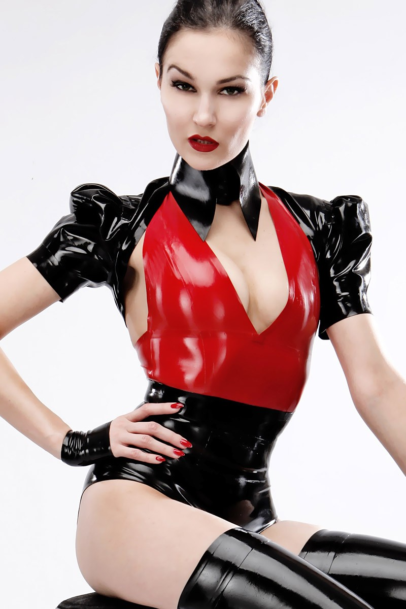 Latex hotpants