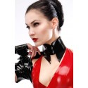 Latex Shirt Collar