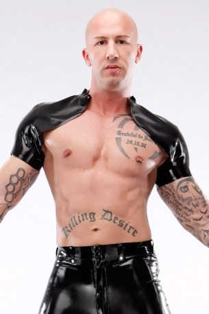 Gents' Latex Shrug