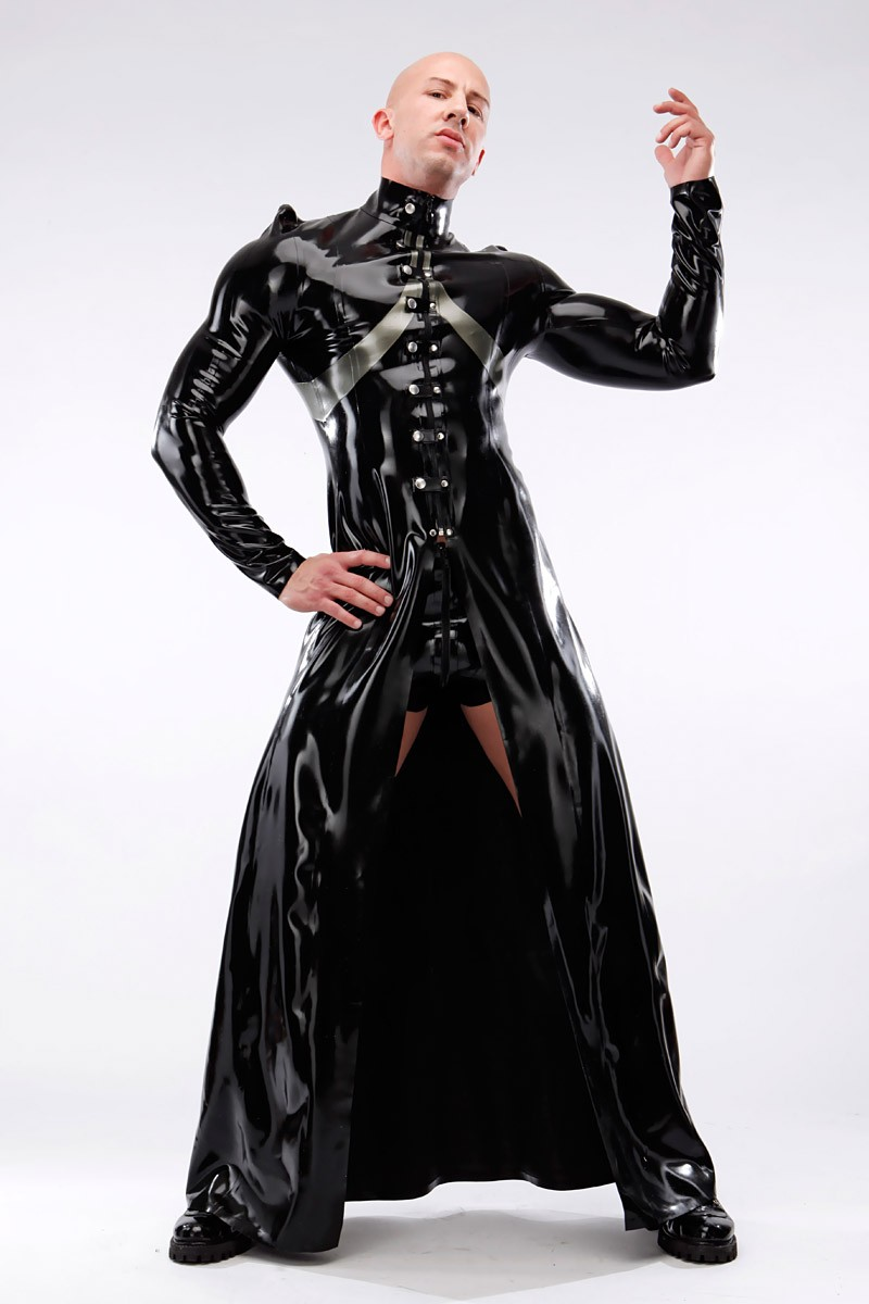emperor latex coat savage wear