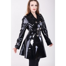 Latex Trench Coat DeLuxe