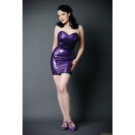 Naughty Snow White Latex Dress