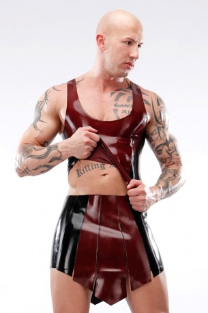 Sparta Latex Skirt