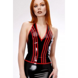 Venla Latex Halterneck Top