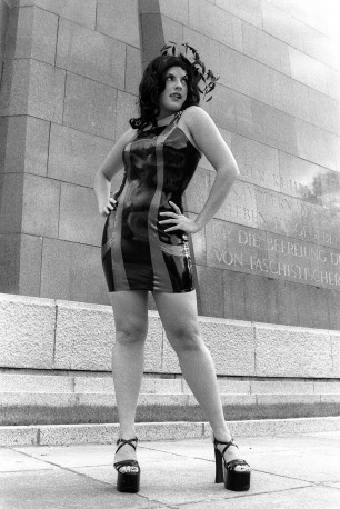 Audra Latex Kleid