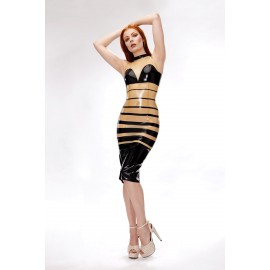 Deanna Latex Dress