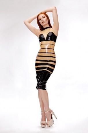 Deanna Latex Dress