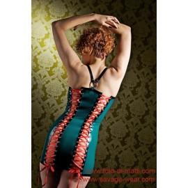 Senlinlu Latex Kleid