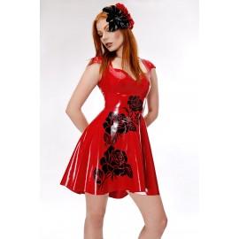 Rosalie Latex Kleid