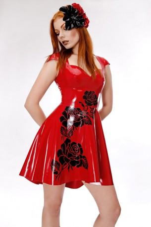 Rosalie Latex Dress
