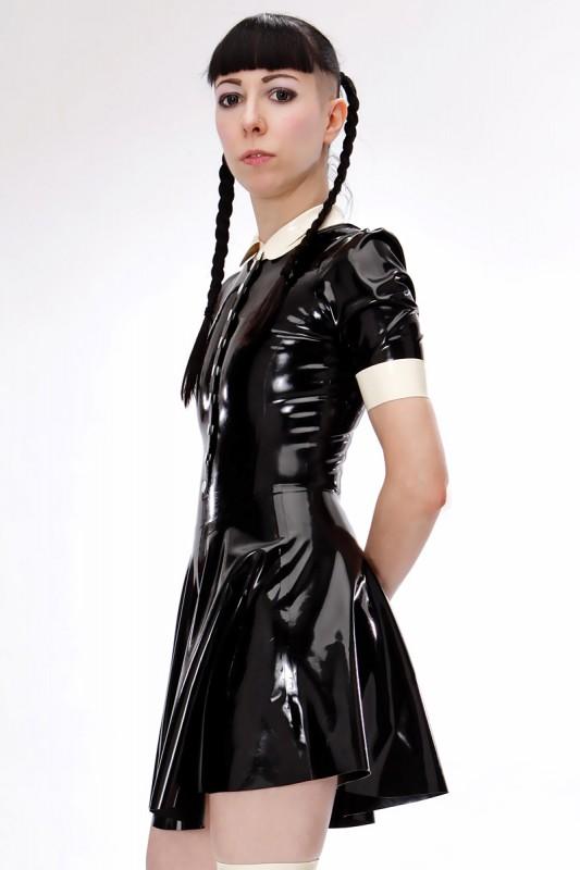 Dark Doll Latex Leotard