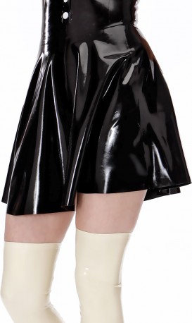 Dark Doll Latex Skirt