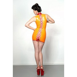 Spine Latex Dress
