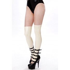 Dark Doll Latex Over Knee Stockings