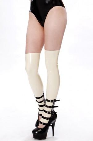 Dark Doll Latex Overknee Stockings