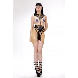 Amunet Latex Kleid