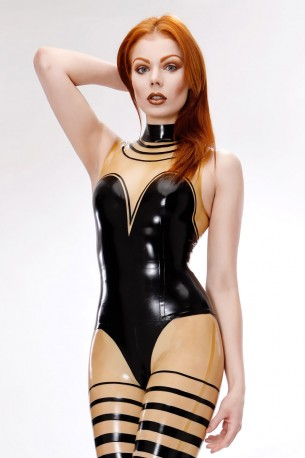 Selina Latex Oberteil