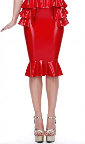 Beau Latex Skirt