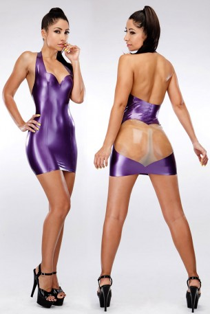 Cora Latex Dress