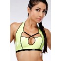 Luci Latex Bikini Top