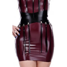 Maryann Fringed Latex Belt