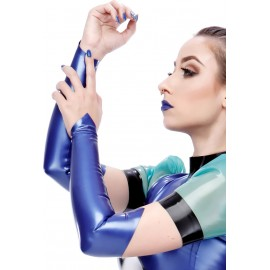 Adele Latex Gauntlets