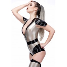 Morgana Latex Leotard