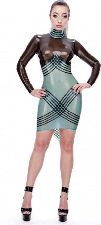 Attera Latex Kleid