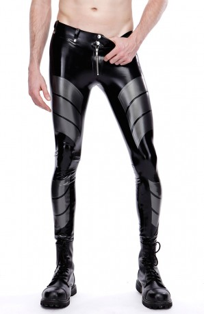 Garrick Latex Leggings