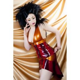 Amber Ray Latex Skirt