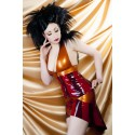 Amber Ray Latex Skirt
