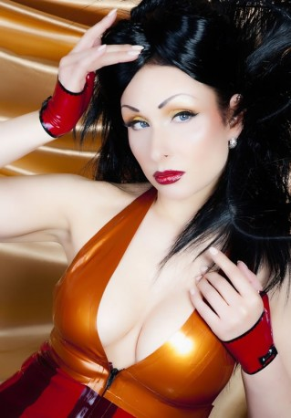 Amber Ray Latex Fäustlinge