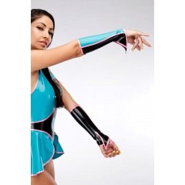 Bella Powers Latex Gauntlets