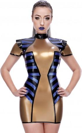 Prosper Latex Kleid