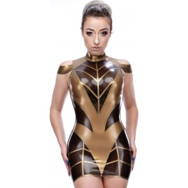 Tanya Latex Dress