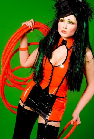 Cabaret Latex Oberteil