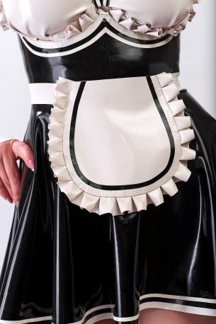 French Maid Latex Apron